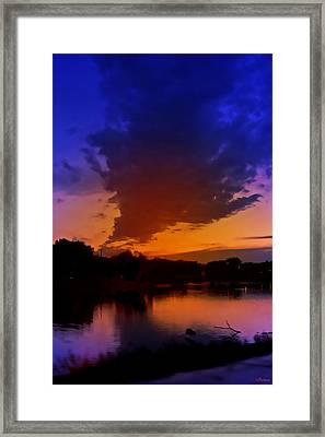 Zenith Framed Print by Kat Besthorn
