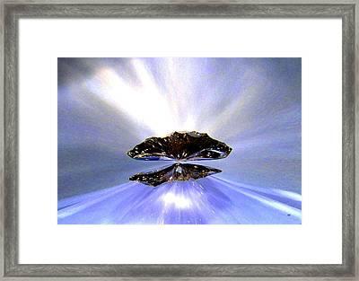 Zenith Of Radiance Framed Print