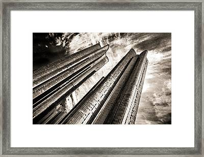 Zenith Towers Framed Print