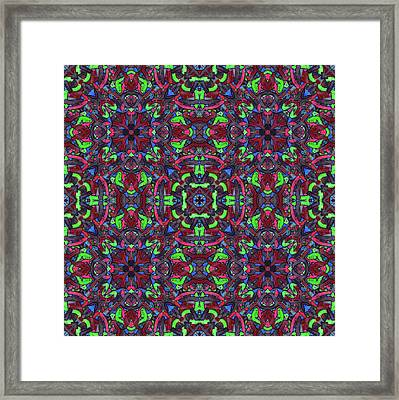 Zentao - Multi Pattern Framed Print