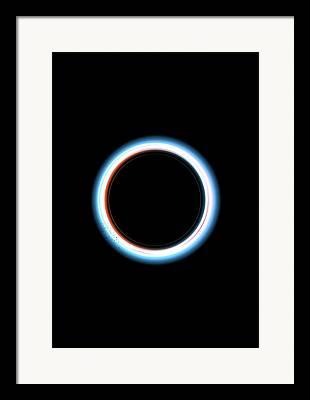 Radial Symmetry Framed Prints