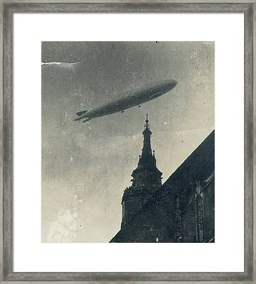 Vintage Zeppelin Framed Print