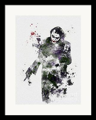 Heath Ledger Framed Prints