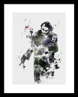 Heath Ledger Framed Prints