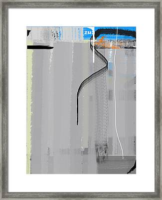 Zero Framed Print by Naxart Studio