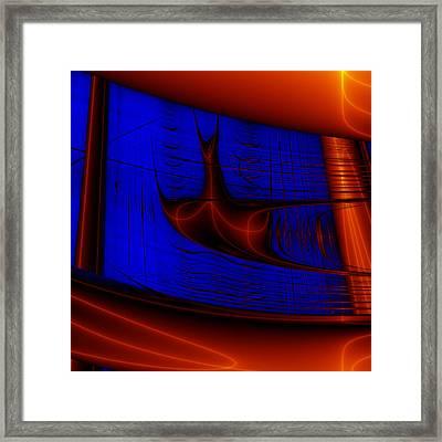 Zestbackle Framed Print