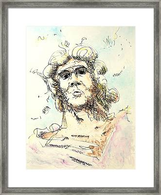 Zeus Framed Print by Dave Martsolf