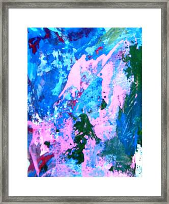Zeus Saving Lives And Property From A Failed Dyke. Framed Print by Bruce Combs - REACH BEYOND