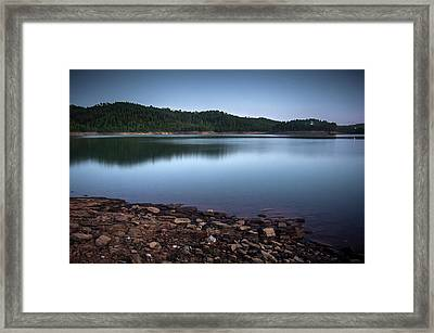 Zezere River Framed Print