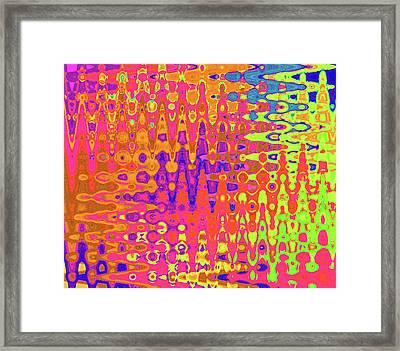 Zig Framed Print