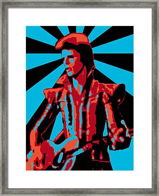 Ziggy Played Guitar Framed Print