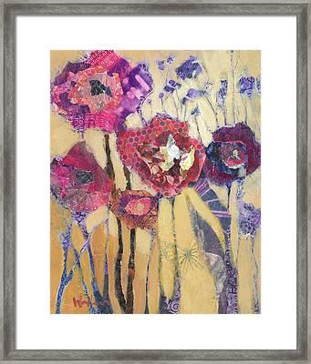 Zinfandels Framed Print