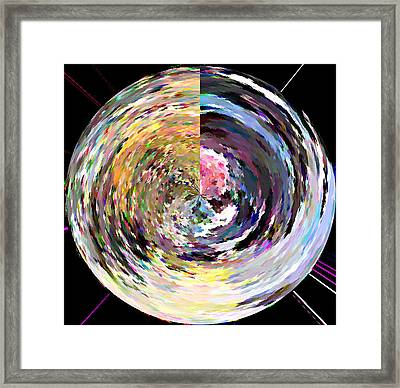 Zing Framed Print by Anil Nene