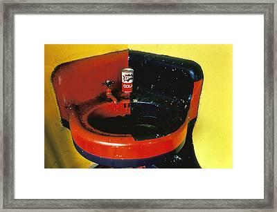 Zing Cola Framed Print