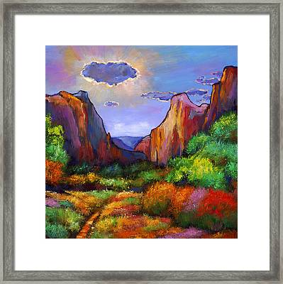 Zion Dreams Framed Print