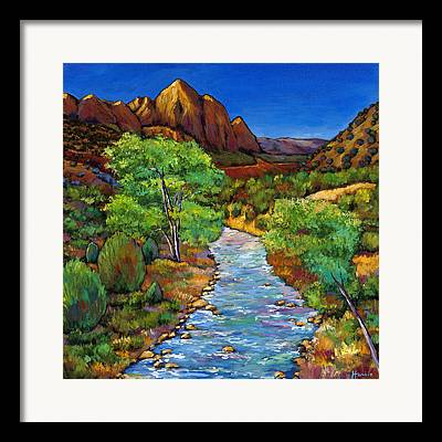 Sedona Mountains Framed Prints