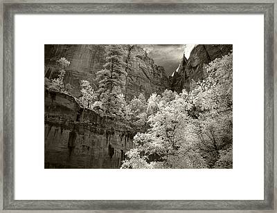 Zion Framed Print
