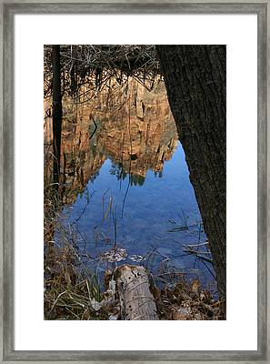Zion Reflections Framed Print