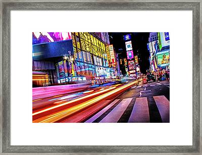 Zip Framed Print by Az Jackson