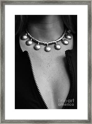 Zipper Framed Print