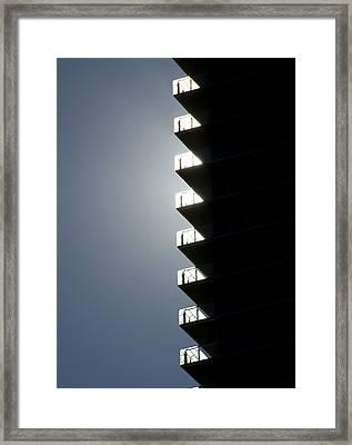 Zippernicity Framed Print by John Gusky