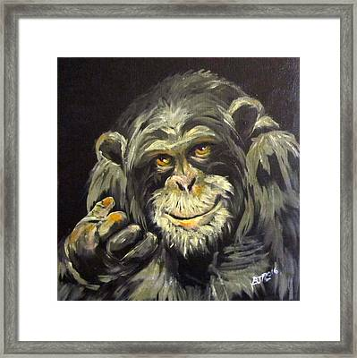 Zippy Framed Print