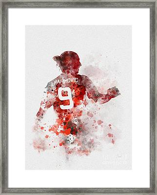 Zlatan Time Framed Print by Rebecca Jenkins