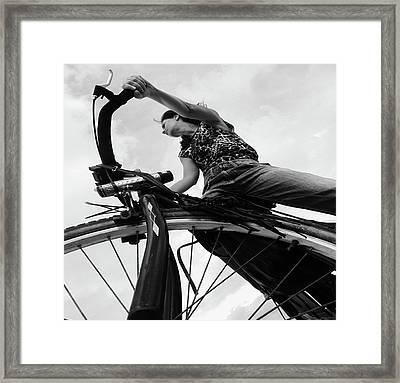 Zlatina Framed Print by Emil Bodourov