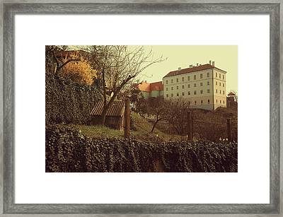 Znojmo Castle Framed Print