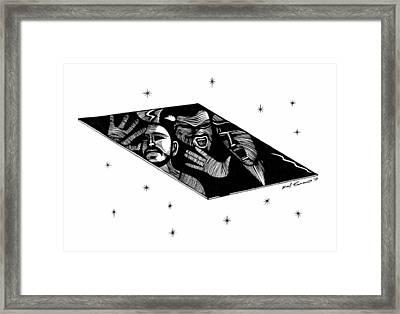 Zod's Fate  Framed Print by Raul Samano