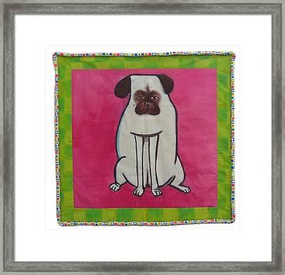 Zoe Framed Print by Grace Matthews