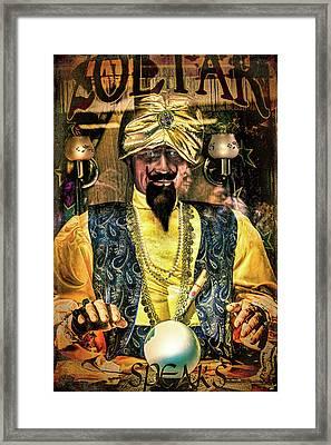 Zoltar Framed Print by Chris Lord