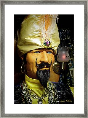 Framed Print featuring the photograph Zoltar by Chuck Staley