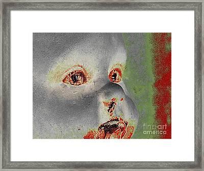 Zombie Baby Four Framed Print