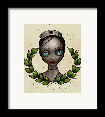 Zombie Framed Prints