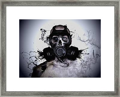 Zombie Warrior Framed Print