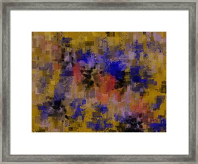 Zonal Warfare Framed Print