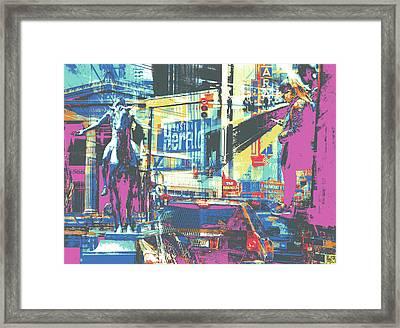 Zone Framed Print by Shay Culligan