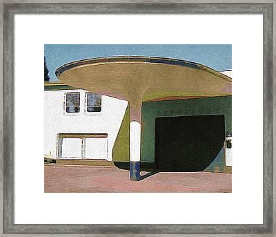 Zoo Garage, Cologne, Germany. Framed Print