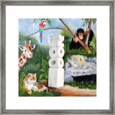 Zoo Framed Print