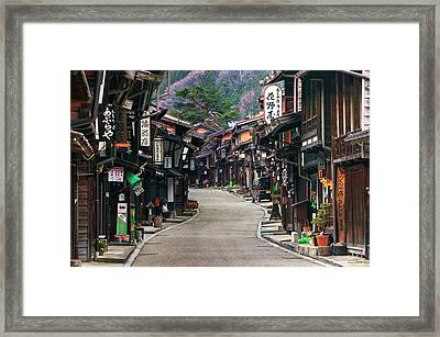 Framed Print featuring the photograph Zooming Back To The Past by Peter Thoeny