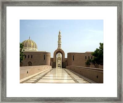 Zooming In Framed Print by Sunaina Serna Ahluwalia