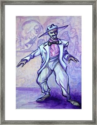 Zoot Suit Framed Print by Kevin Middleton