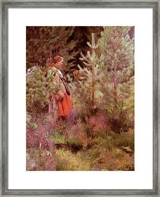 Zorn Anders Vallkulla Framed Print