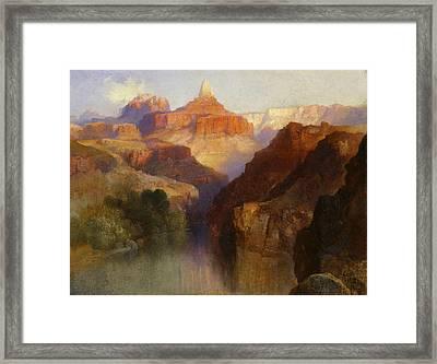 Zoroaster Peak Framed Print by Thomas Moran
