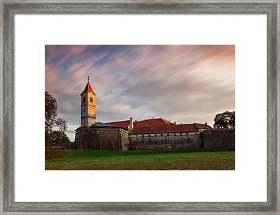 Zrinskis' Castle Framed Print