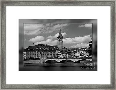Zuerich Framed Print