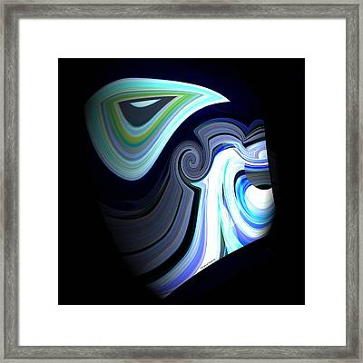 Zues Framed Print by Thibault Toussaint