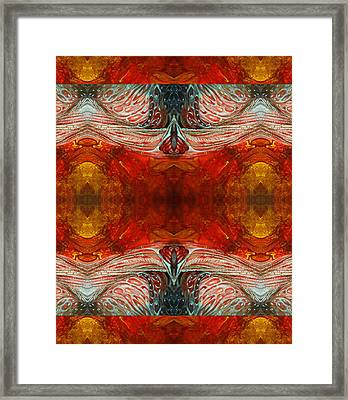Zulu Framed Print by Otto Rapp