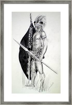 Zulu Roarkes Drift Framed Print by Paul Sandilands